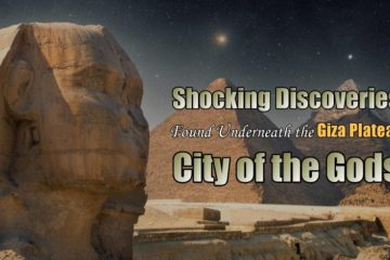 Shocking discoveries found underneath the Giza Plateau ~ City of The Gods