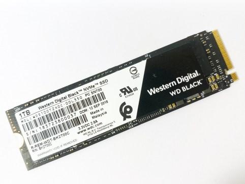 [SSD / Mac 測試] WD BLACK 黑標 NVMe SSD (SN700)
