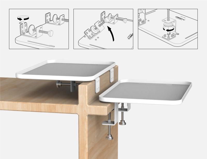 [開箱] 桌面空間擴增術:Monitormate ProSHELF 鋁合金隨手置物平台