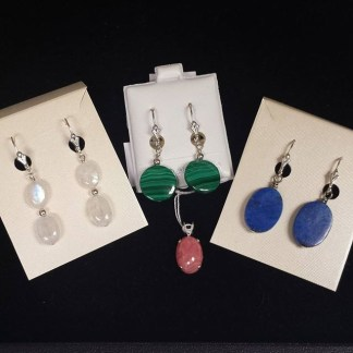 Sterling Silver & Gem Jewelry