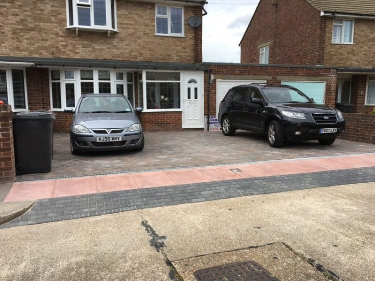 Driveway and dropped kurbs by Gary Simes in East Sussex