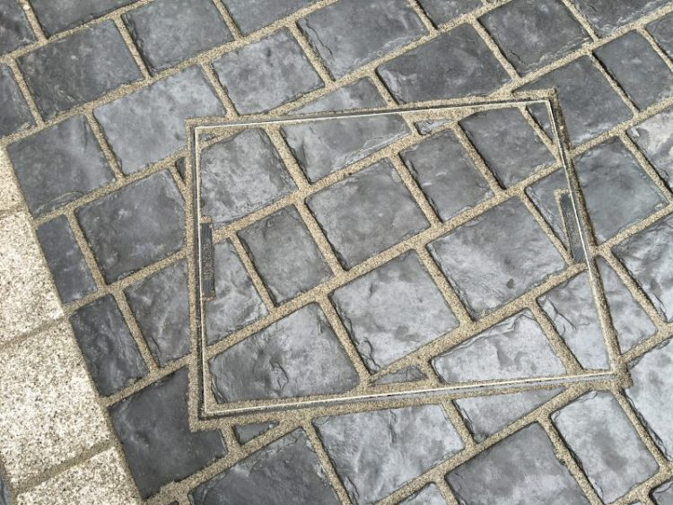 Marshalls driveways paving system drain cover by Gary Simes in East Sussex