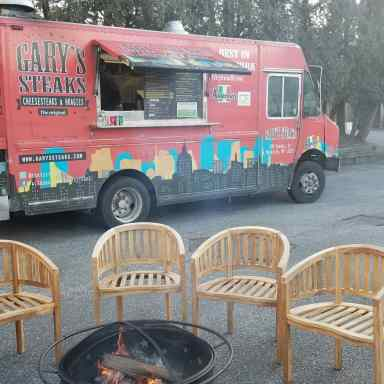 Garyssteaks food truck Catering event Huntington Country Club