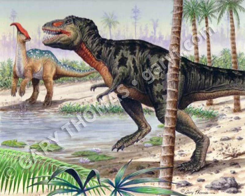T-Rex_Parasaurolophus