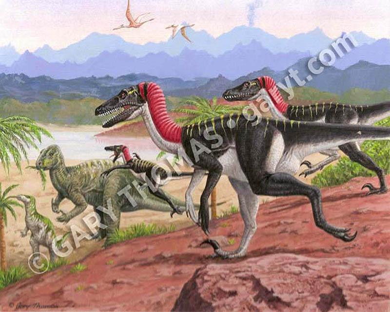 Utahraptors_Iguanadons