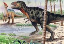T-Rex & Parasaurolophus