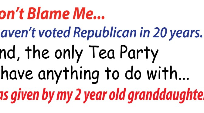 Tea Party Republicans?