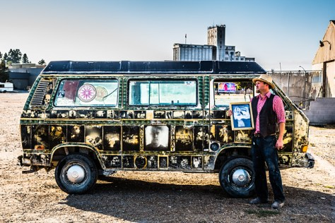 Art van (VW Vanagon) and the artist who created it