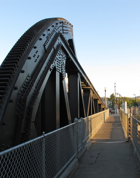 D Street drawbridge