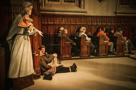 A tableau impression from a free Bach concert in Montreal