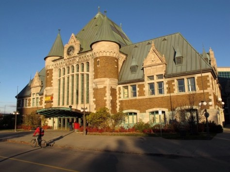 Le Gare du Palais, Quebec City