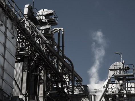 Industrial abstract near the Petaluma river