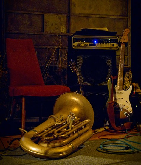 Still life with tuba