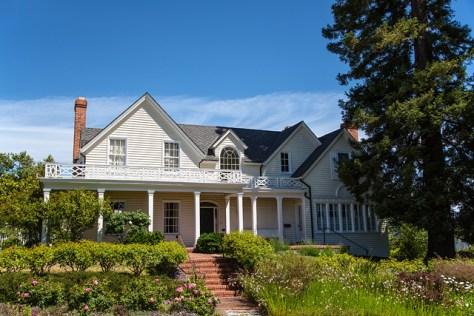 Julia Morgan house in Petaluma