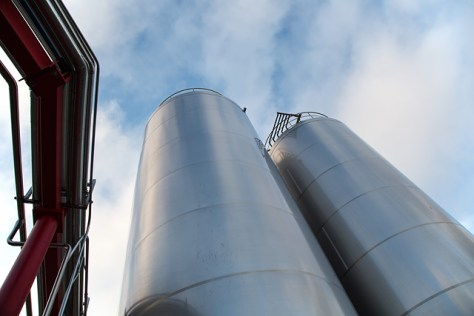 Lagunitas Brewery tanks 1