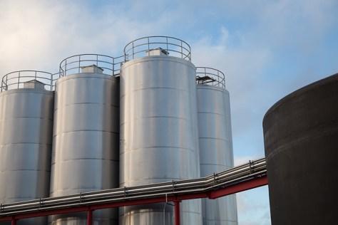 Lagunitas Brewery tanks 2