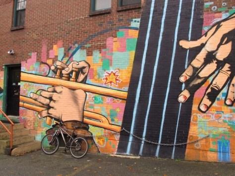 Jazz mural, Halifax
