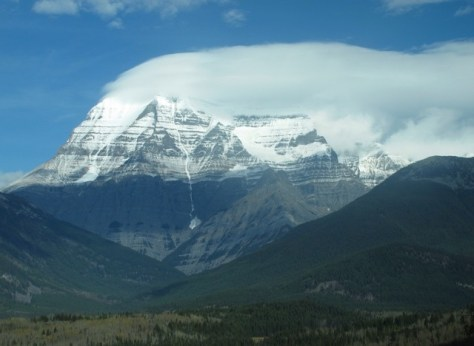 Mt Robson from the Canadian
