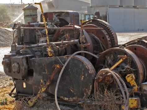 Old machinee