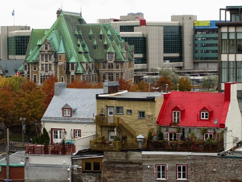 Quebec City color