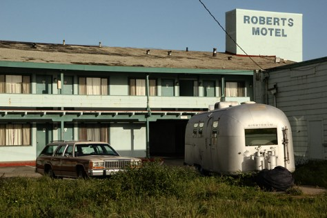 Run down motel