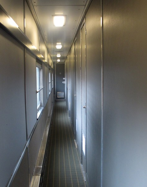 Hallway to F