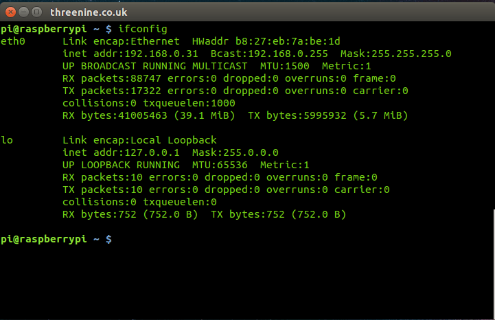 How to Remotely access the Raspberry Pi using SSH