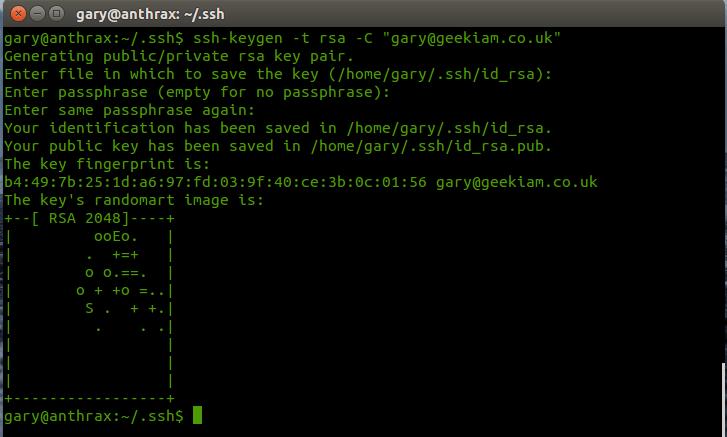 generate_key