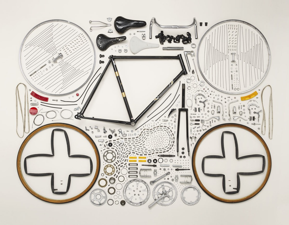 Disassembled Bike - Todd Mclellan