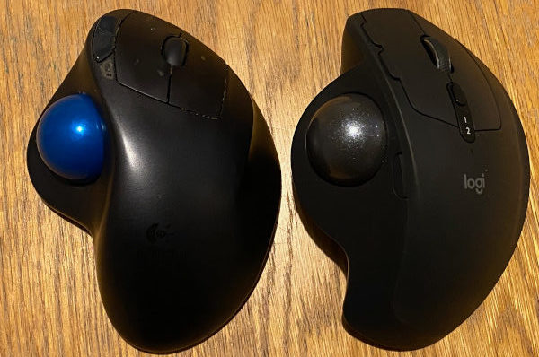 Logitech MX ERGO Advanced Wireless Trackball