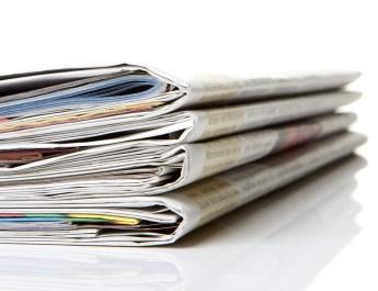 newspaper, journal
