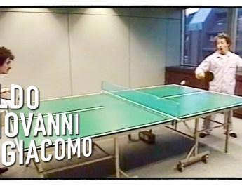 Gas-Tube: Gli Svizzeri di Aldo, Giovanni e Giacomo – Ping pong