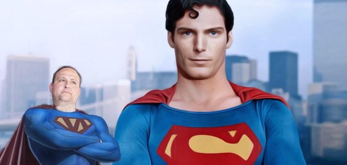Super man super norman