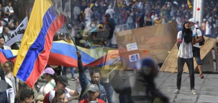 colombia-proteste