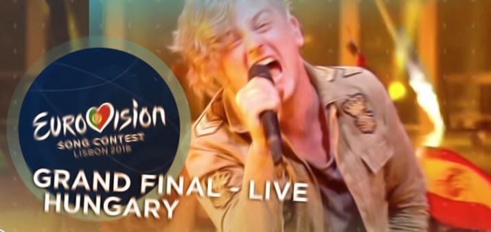 eurovision ungheria