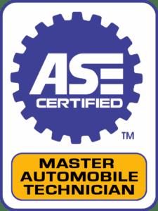 ASE master tech.