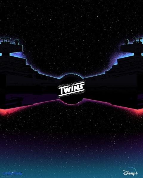Imagem promocional do episódio The Twins de Star Wars Visions