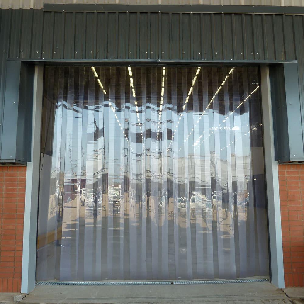 vinyl strip curtain flap door kit