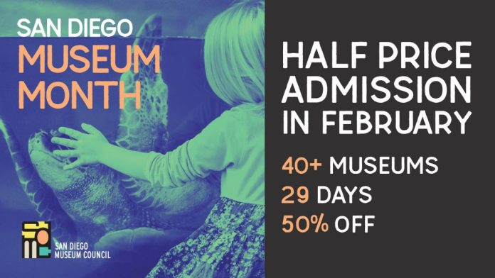 Image result for San Diego Museum Month 2020