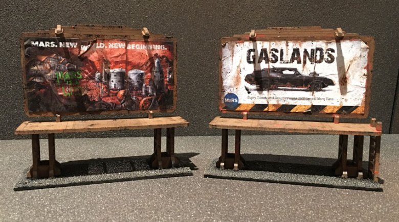 post apocalyptic billboard posters
