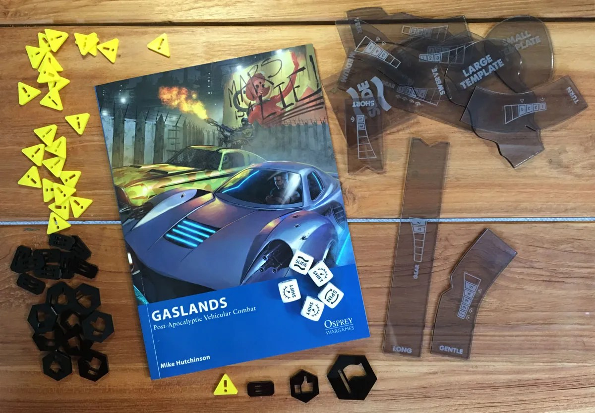 Gaslands templates bundle