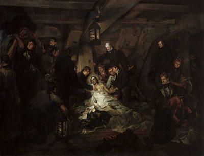 Artist: Arthur William Devis Year: 1807 Medium: Oil on canvas Dimensions: 19.56 cm × 26.16 cm (7.70 in × 10.30 in) Location: National Maritime Museum, Greenwich