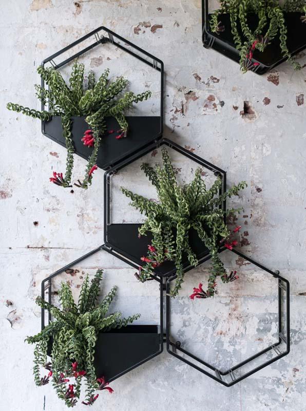 Metal Vertical Wall Planters