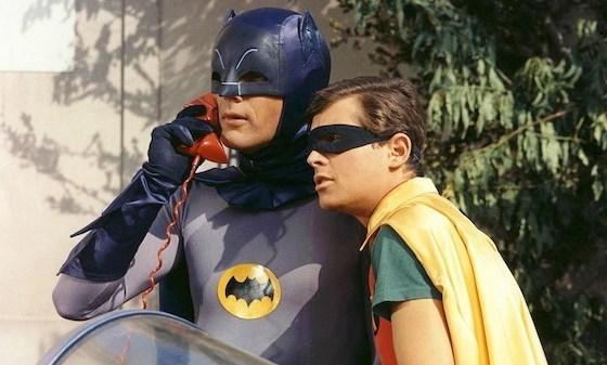 batmanrobin 1 - O Batman sem máscara