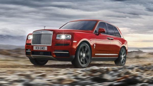 r1 - CULLINAN o SUV da Rolls-Royce