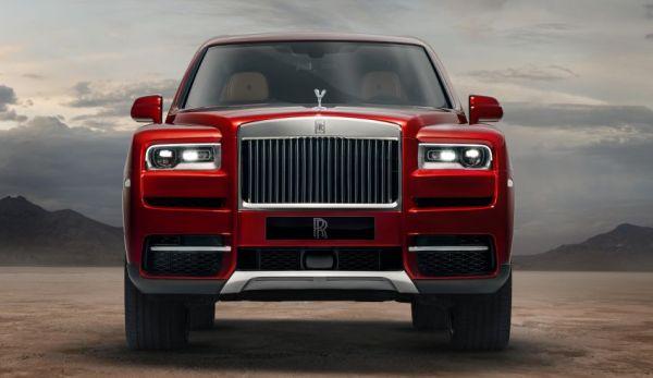 r2 - CULLINAN o SUV da Rolls-Royce