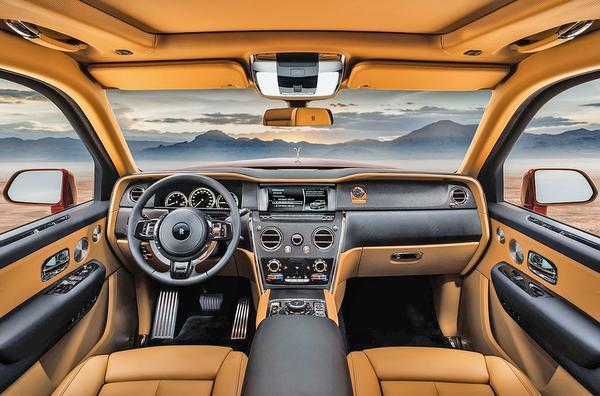r5 - CULLINAN o SUV da Rolls-Royce