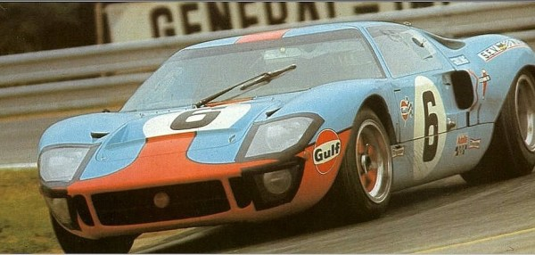 """f1 - """"FORD GT40"""" o matador de Ferraris"""
