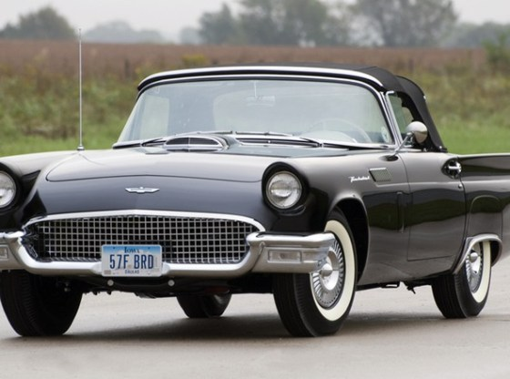 "Mecum57FordTbird 800 - ""Thunderbird"" o esportivo compacto da Ford"
