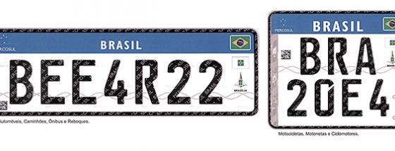placas mercosul 610x215 - IDAS E VINDAS, SEM RAZÕES por Fernando Calmon